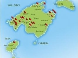 golf course map in Majorca